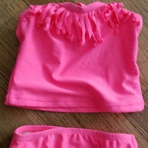 Baby Girl pink 2 piece Swimsuit..